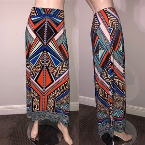Chico's Jersey Knit Maxi Skirt 3-XL